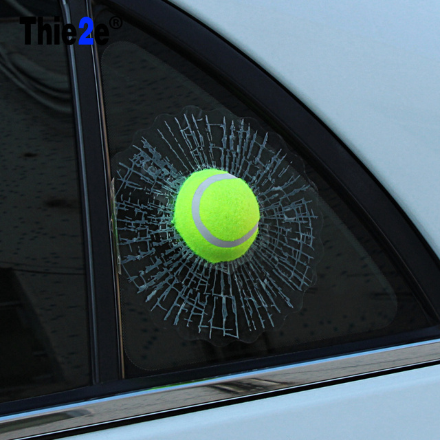 3d car ball window sticker for mg 3 zr for opel astra h j g insignia mokka corsa