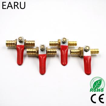 6mm-12mm króciec do węża Inline mosiądz woda olej powietrze gaz przewód paliwowy odcinający zawór kulowy łączniki rurowe złącze pneumatyczne kontroler tanie i dobre opinie Flange Miedzi Odlewania Hexagon EARUELETRIC Równe Tuleja piece 0 05kg (0 11lb ) 5cm x 5cm x 5cm (1 97in x 1 97in x 1 97in)