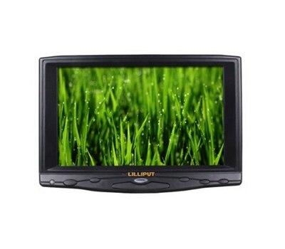 Lilliput 619A 7 TFT LCD монитор, с VGA интерфейсом, подключение с компьютером, встроенный динамик, 800x480 (поддержка до 1920x1080)