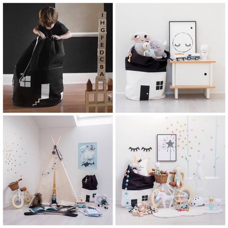 Cute House Multipurpose Storage Bag Best Children's Lighting & Home Decor Online Store