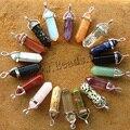 Amatista Collar de Los Colgantes de Piedra Natural Rosa de Cristal de las mujeres Collares Declaración Colgante, Collar Collares Joya De Piedra De Cuarzo