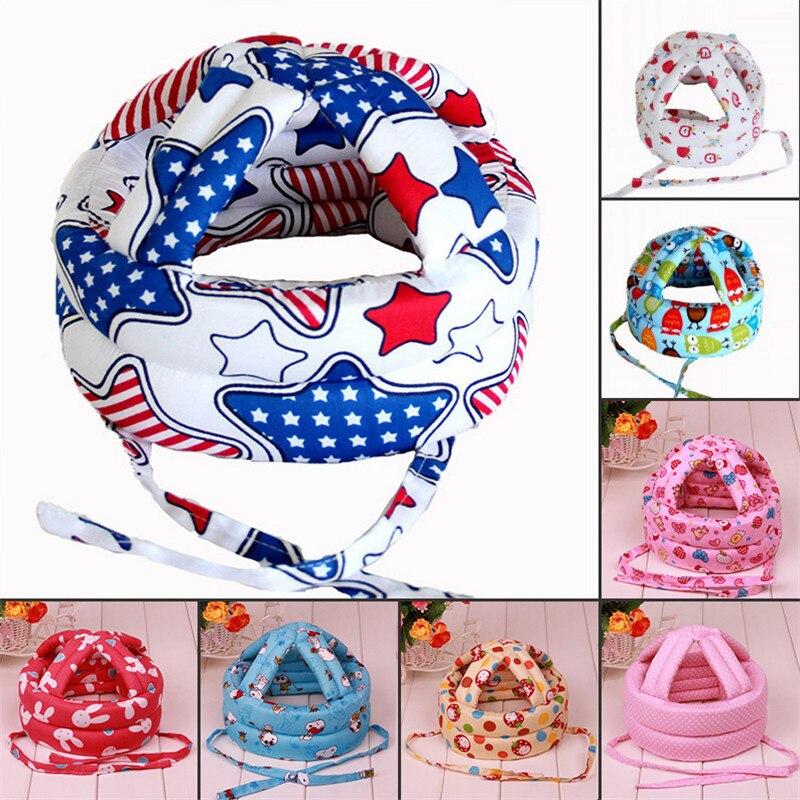 Neue Baby Sicherheit Lernen, zu Gehen Kappe Anti-kollision Schutz Hut Sicherheit Helm Weichen Bequemen Kopf Sicherheit Schutz baby