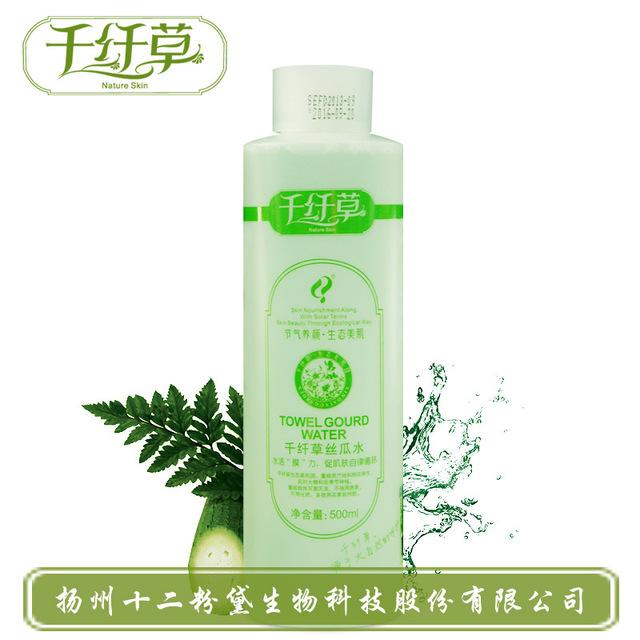 Hidratante blanqueamiento Loofah tóner agua Anti envejecimiento reducir los poros removedor de la espinilla del tratamiento del acné Control de aceite cuidado de la cara Toners
