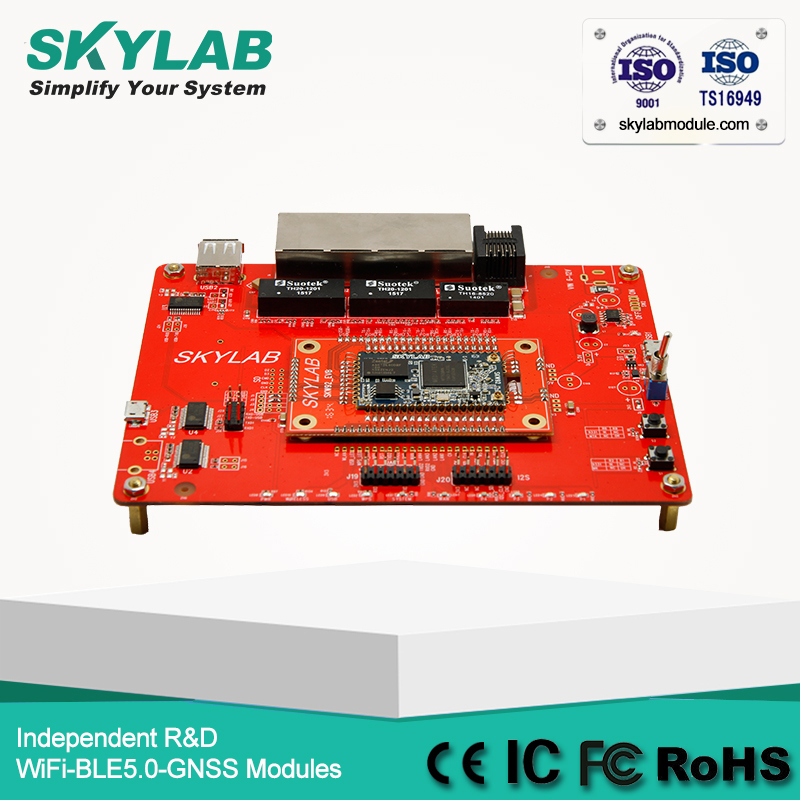 SKYLAB SKW92A 802.11b / g / n 2x2 MIMO MT7628N 3G / 4G WiFi Router Development Board