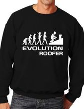 Evolution Of Roofer Funny Adult Sweatshirt Jumper Birthday Gift More Size and Color-E177
