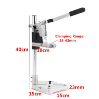 New 1pc Electric Drill Bracket 400mm Drilling Holder Grinder Rack Stand Clamp Bench Press Stand Tool Rack Repair Workbench