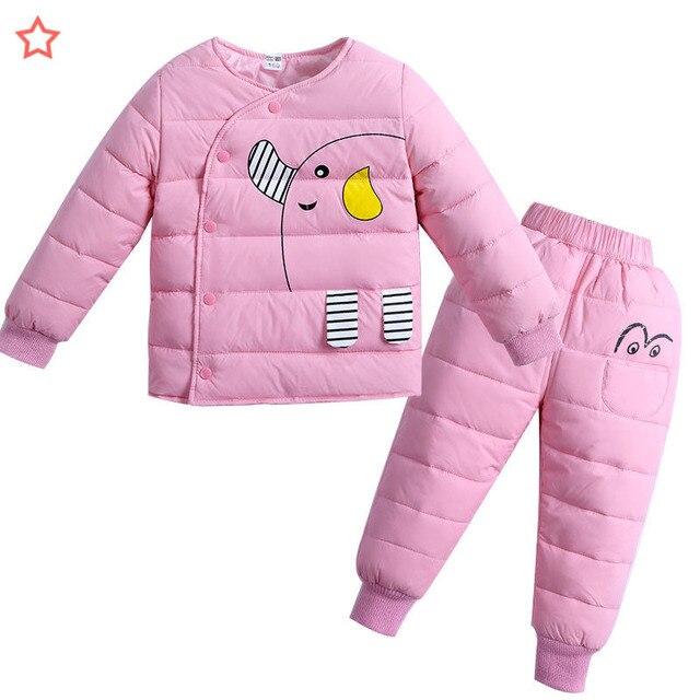 4e697ba3d BibiCola girls clothing set fashion cartoon top+pants 2pcs outfits ...