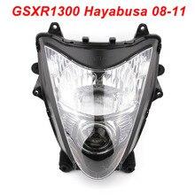 For 08-11 Suzuki GSXR1300 Hayabusa GSX 1300R Motorcycle Front Headlight Head Light Lamp Headlamp CLEAR 2008 2009 2010 2011 все цены