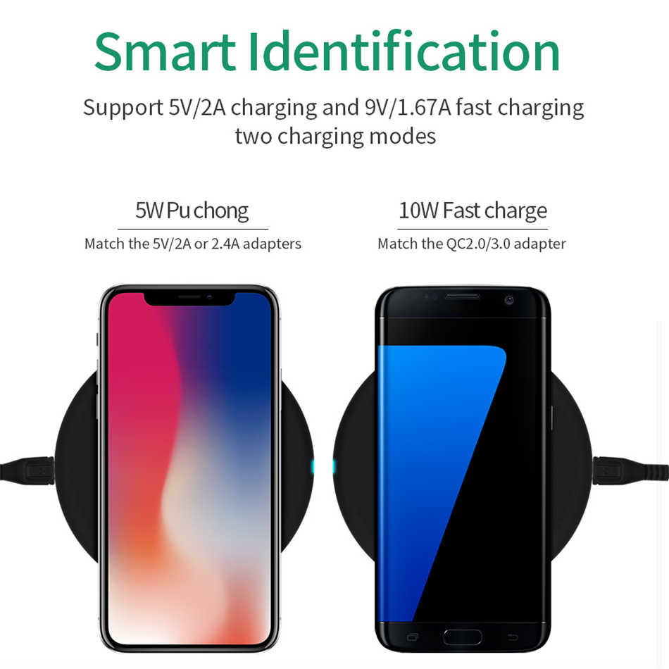 10W QI szybka ładowarka do Samsunga A50s A70 A30 A40 A20e