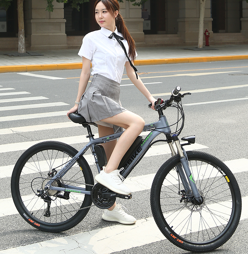 Polegada 27 26 velocidades 36 V 10Ah Bateria De Lítio Bicicleta Elétrica Bicicleta de Montanha EBike Do Motor 250 W Bicicleta Elétrica poderosa