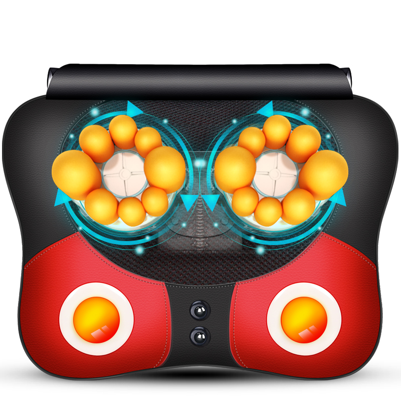 Free Shipping Neck Massager Pillow Electric Shiatsu Cervical Massager Device Household Multifunctional Body Massage Cushion