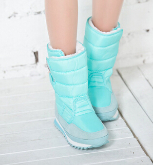 2017 New Women Winter Boots Shoes Snow Shoes Black Warm Warm Snow Boots Cotton In Plus Size Skid Thick Heel Shoes .ZYMY-xz-29