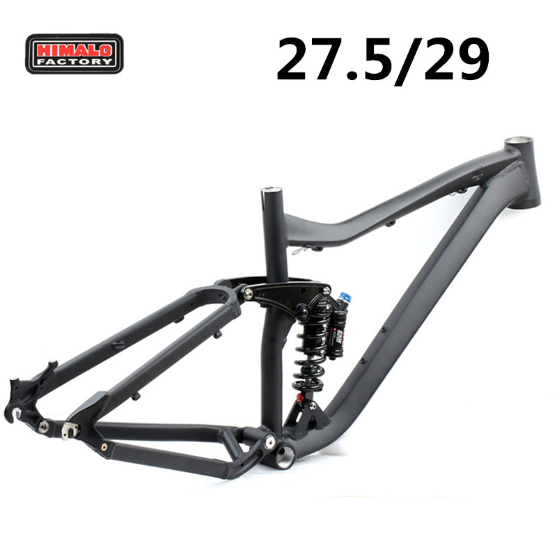 HIMALO Bicycle Frame Full Suspension Frame 29ER 27.5ER Aluminium Alloy MTB Frame Mountain DH Cycling  Downhill Bike Accessories