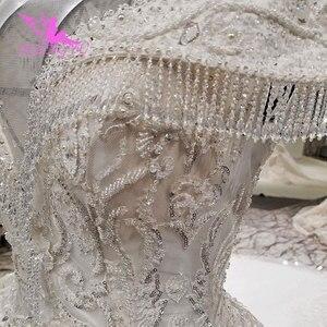 Image 5 - AIJINGYU Plus Size Wedding Dresses With Royal Ball White Boho Modests engagement Classy Gowns Wedding Dress Czech Republic