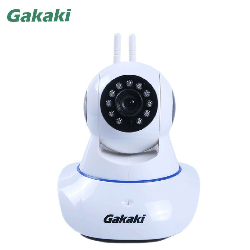 Gakaki HD Wireless Security IP Camera 1080P Wi fi R Cut Night Vision Audio Recording Surveillance