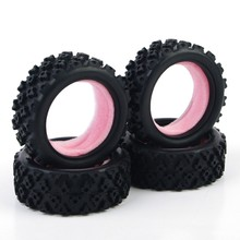 Rc Rally Tires Rubber Tyres PP0487 Model For HSP HPI RC  1:10  Rally Off Road Car Model Toys Accessory