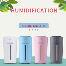 Ultrasonic USB Air Humidifier Essential Oil Diffuser With 7 Color Aromatherapy Car Aroma