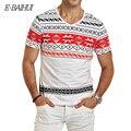 E-BAIHUI марка мужские футболки мода печати Одежда Swag Мужчины Футболки Camiseta топы тис Скейт Moleton человек майка Y026