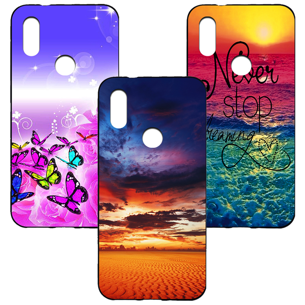 New Printed Case For Lenovo Z5 case soft tpu silicone colorful painting back cover case for Lenovo Z5 fundas coque