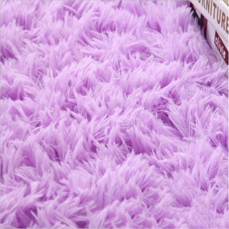 100X160 cm Shaggy miękki dywan dywanik na podłogę z włókna dywany dla pokoju gościnnego sypialnia pokój dziecięcy dywaniki dywan do domu proste obszar dywaniki