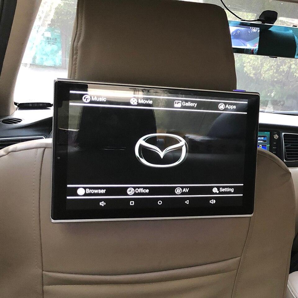 Android hovedstøtte monitor i bil video dvd skærm til Mazda - Bilelektronik