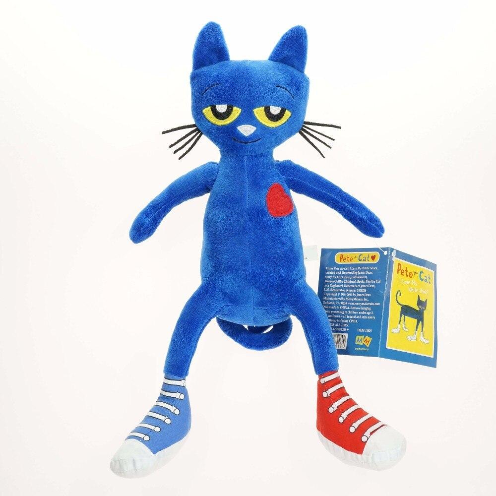 Детские игрушки Пит кошка плюшевые Игрушечные лошадки 14.5 дюймов stuffe Игрушечные лошадки