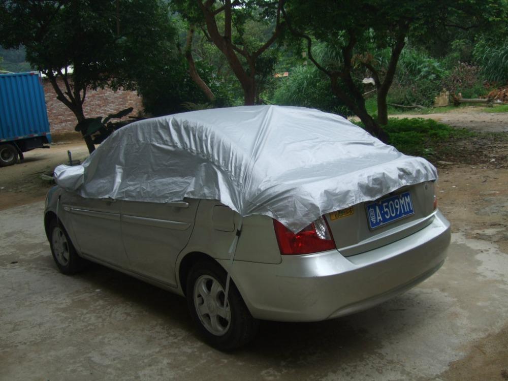 Car-Cover-Prevent-Heat-Cold-Sun-Rain-Snow-Dustproof-Half-Auto-Cover-For-Ordinary-Sedan-Pickup (3)
