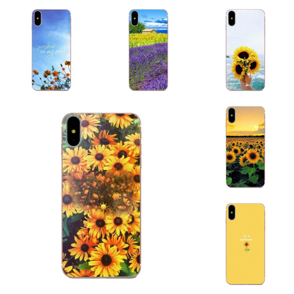 Soft Mobile Shell For LG Nexus 5 5X G2 G3 mini spirit G4 G5 G6 K4 K7 K8 K10 2017 V10 V20 V30 Stylus Sunfowers Fantasy Show image