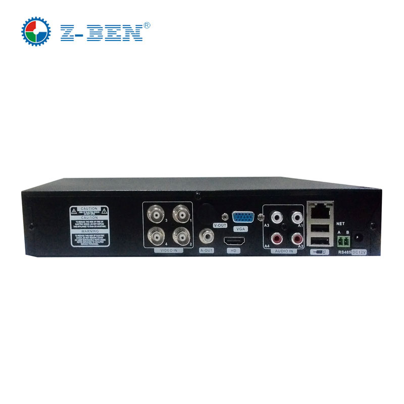 Z-BEN New Products 4CH AHD DVR For 720P/960P/1080P AHD CCTV Camera 4 Channel ONVIF IP NVR Network H.264 Recorder Surveillance