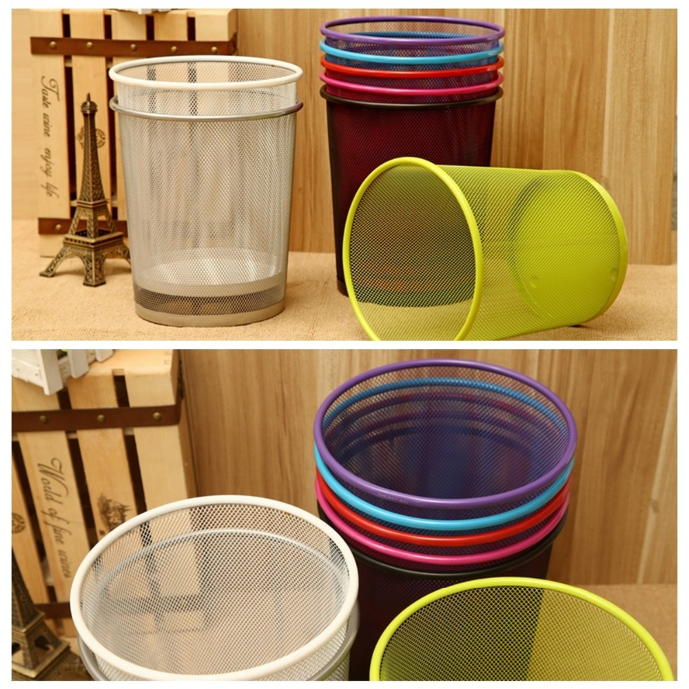 Beau New Premier Colourful Metal Mesh Waste Paper Basket Bedroom Office Rubbish  Bin 6Colors In Waste Bins From Home U0026 Garden On Aliexpress.com | Alibaba  Group