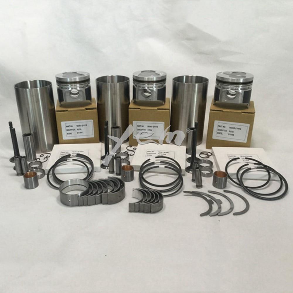 Kubota D1005 Wiring Harness Car Fuse Box Diagram For Engine Parts D1105 Overhaul Rebuild Kit Piston Rh Aliexpress Com