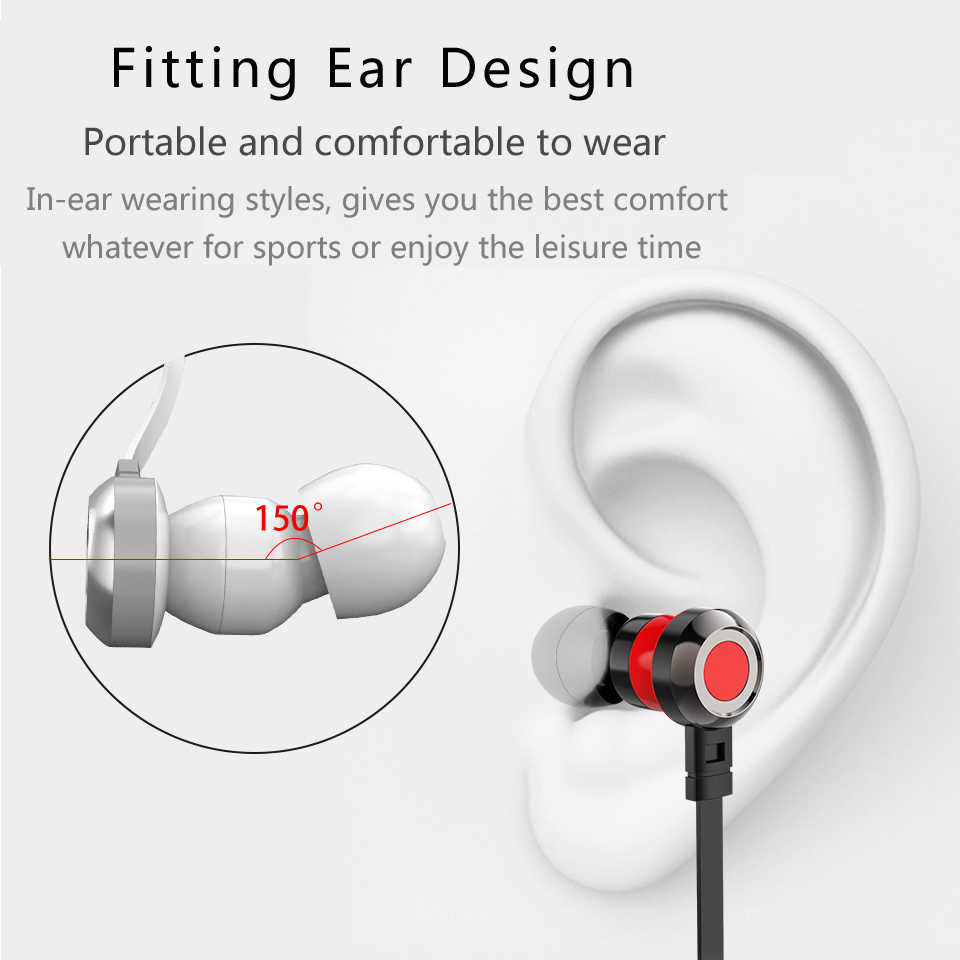 p5 hd hifi earphones in ear sport stereo earbud with mic 3 5mm jack wired gaming  [ 960 x 960 Pixel ]