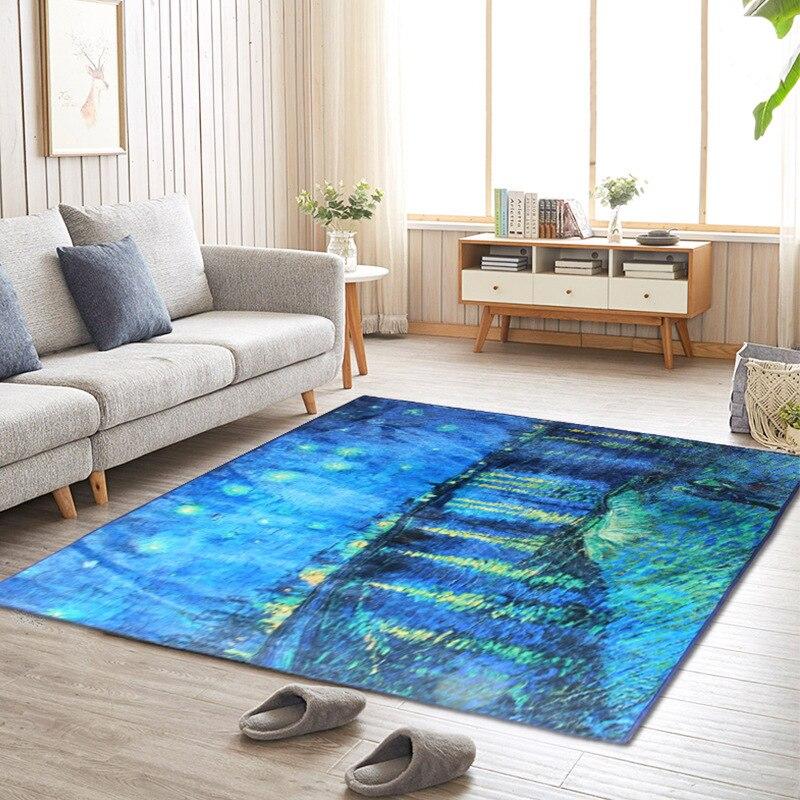 Maison salon moderne en peluche zone tapis canapé table chambre chevet plein d'enfants chambre tapis cuisine salle de bains tapis anti-dérapant doux - 6