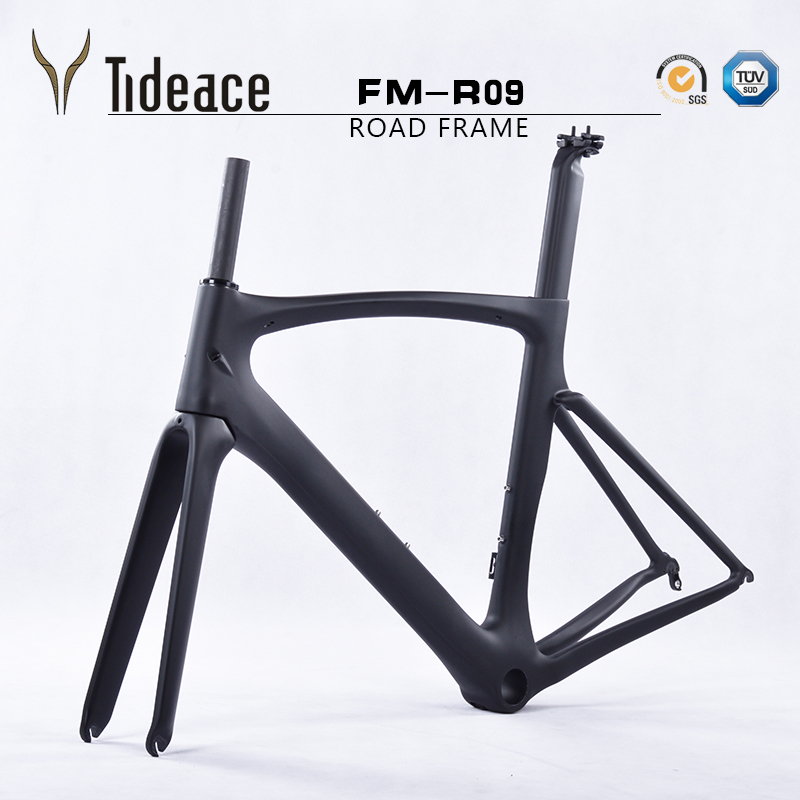 2017 700C Full Carbon Road <font><b>Bike</b></font> <font><b>Frame</b></font> Road Racing Bicycle <font><b>Frame</b></font> Light Weight full carbon fiber road frameset with BB