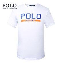 Royal Queen's Team Men's Short Sleeve T-Shirt Youth 2017 Summer Men's Round Pen Print T-Shirt Men's Clothing