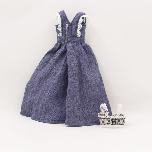 Neo Blythe Doll Purple Pants Bra Clothes