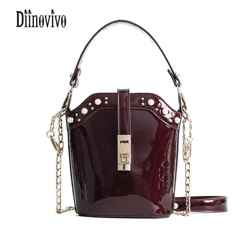 988a6a7614 DIINOVIVO Hot Sale 2018 Vintage Women s Shoulder Bags Casual Fashion Bolsa  Feminina Famous Brand Luxury Bags Womens Bags DNV0209