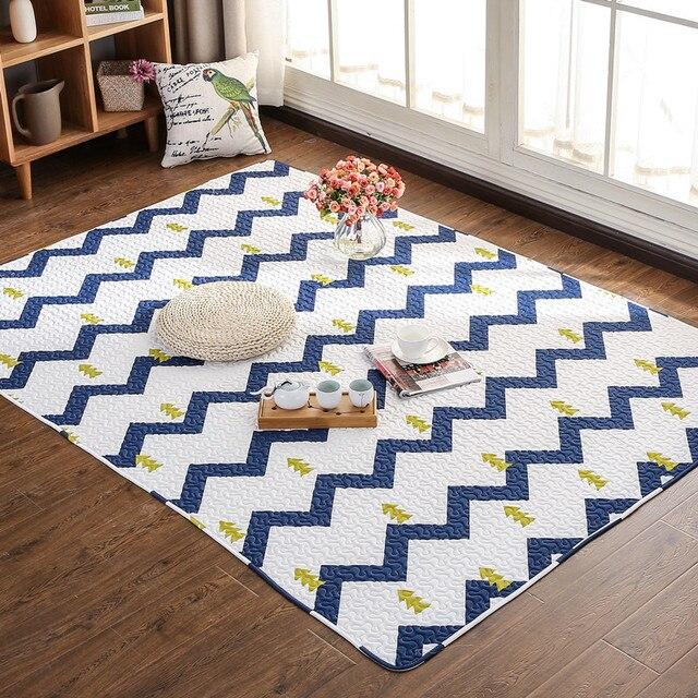 New Japan Stil Tatami Fussmatten Baumwolle Baby Krabbeln Matte Teppich Anti Skid Wohnzimmer