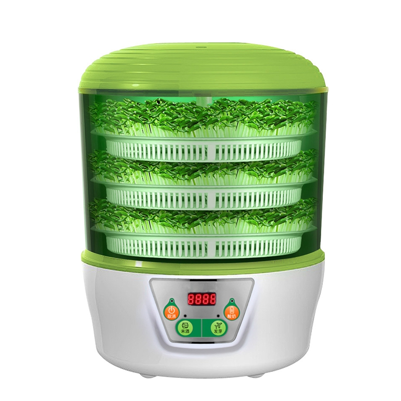 HIMOSKWA 3 Layer Multifunctional Vegetables Seedling Sprouts Machine 220V Automatic Intelligent Yogurt Maker Rice Wine MachineHIMOSKWA 3 Layer Multifunctional Vegetables Seedling Sprouts Machine 220V Automatic Intelligent Yogurt Maker Rice Wine Machine