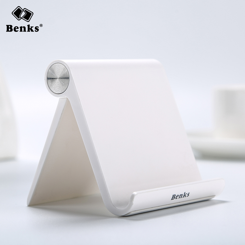 Benks Universal Flexible Phone Desk Holder for iPad iPhone Samsung Xiaomi Mobile Cellphone and Tablet Portable V-shape Stand