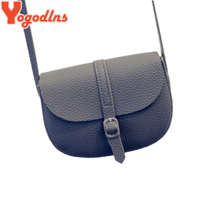 2017 lady high quality girl/woman messenger bags belt mini women bag cross body saddle bag soft school bag Saddle PU Leather