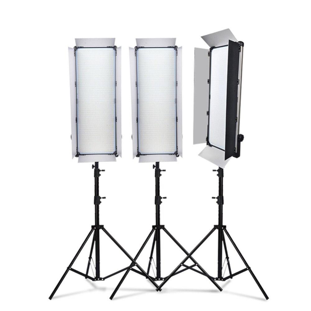 Dhl 1 pc yidoblo led lampe lumière d-3100ii 200 w 20000 lumen studio professionnel multi-couleur photographie led vidéo continuer à la lumière