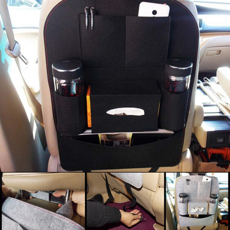 Car Storage Bag Car Seat Multi Pocket Travel Storage Bag Hanger