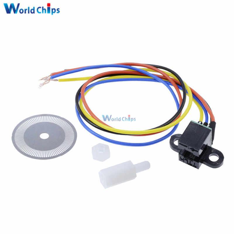 Photoelectric Speed Sensor Encoder Coded Disc Code Wheel For Freescale  Smart Car 5V