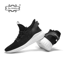 Купить с кэшбэком New exhibition Men shoes Lightweight Mesh Sneakers fashion breathable casual Free Walking shoes Krasovki Outdoor Mens size 39-44