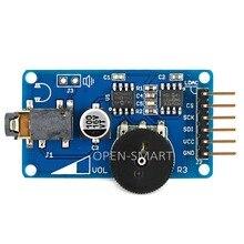 WAV Music Player Module Audio Player Voice Broadcast Module for Arduino