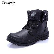 2018 Autumn winter new non-slip breathable kind of canvas shoes Paladin male out