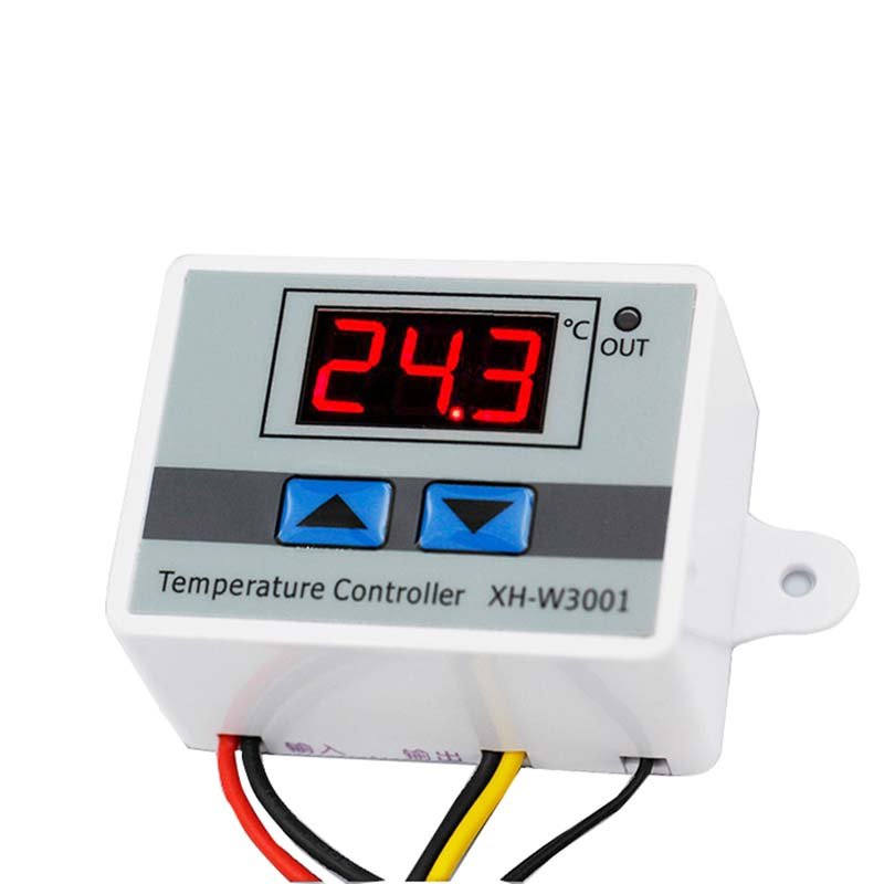 <font><b>10A</b></font> 12V 24V <font><b>220V</b></font> Digital LED <font><b>Temperature</b></font> <font><b>Controller</b></font> for Arduino Cooling Heating Switch Thermostat NTC Sensor image