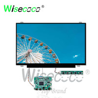wisecoco 14 inch screen 1920*1080 FHD TFT LCD antiglare display for laptop tablet pc LCD learning machine with HDMI driver board