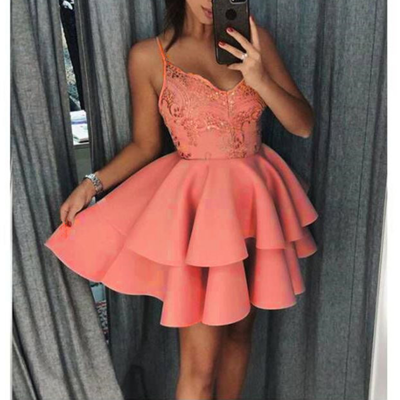 Women-Sling-Dress-Lace-Sleeveless-Tutu-Summer-Sexy-V-neck-Party-Dresses-Short-Mini-Ruffles-Patchwork (1)